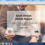 New South African Mobile Report Available – Download Here