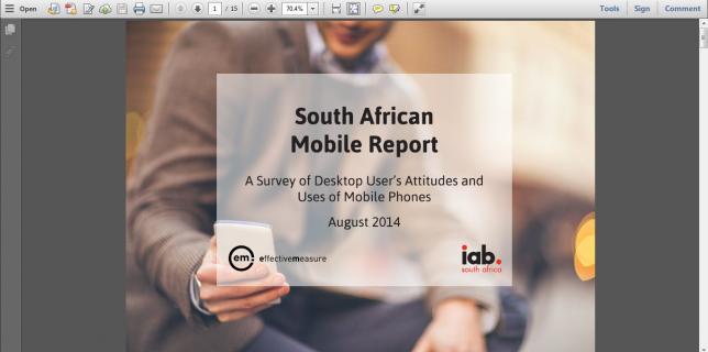 2014 SA Mobile Report