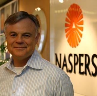 Koos Bekker of Naspers