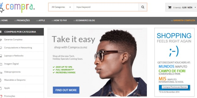 New Online Store Entering the Mozambique Online Market